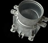 Gear oil pump parts